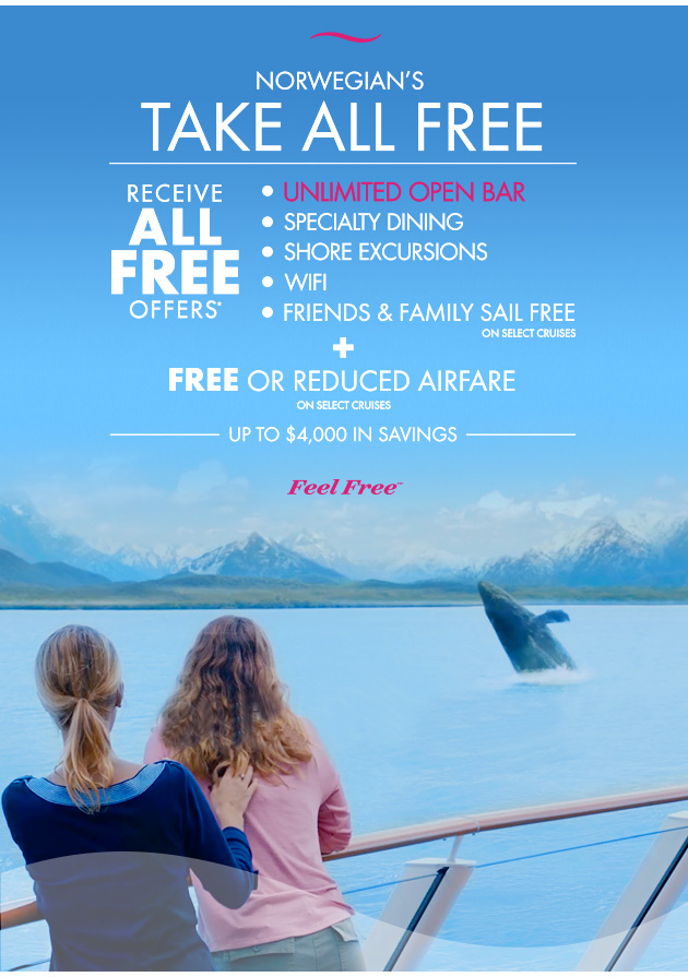 Norwegian's Take All Free